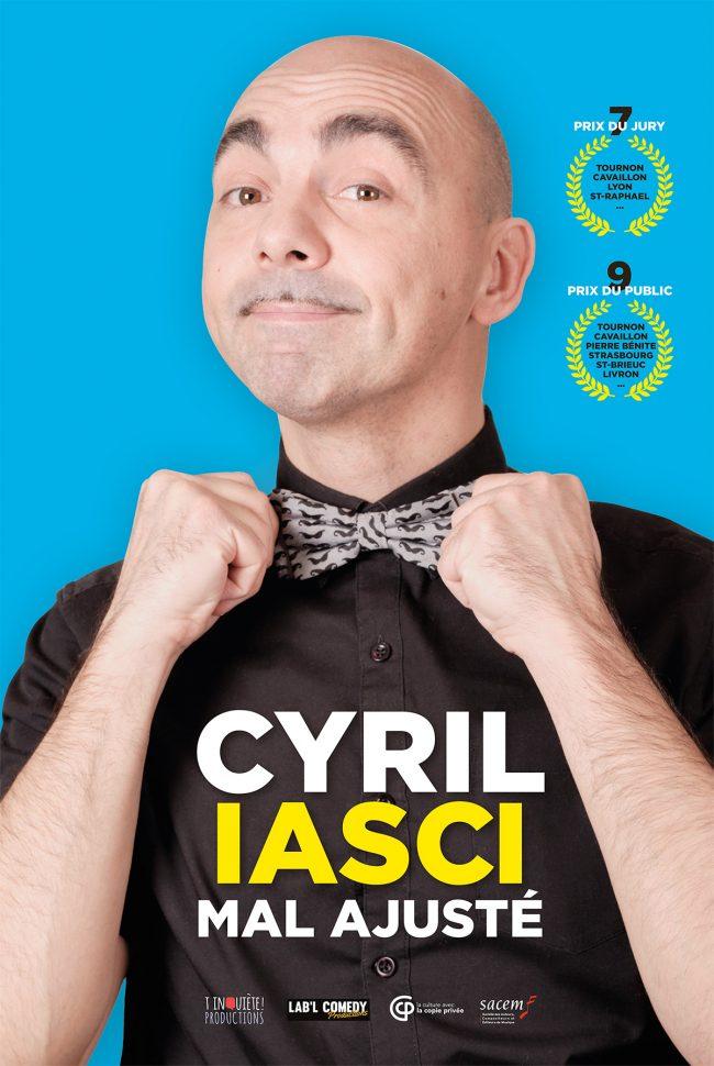 Labl-Comedy-Cyril-Iasci-affiche